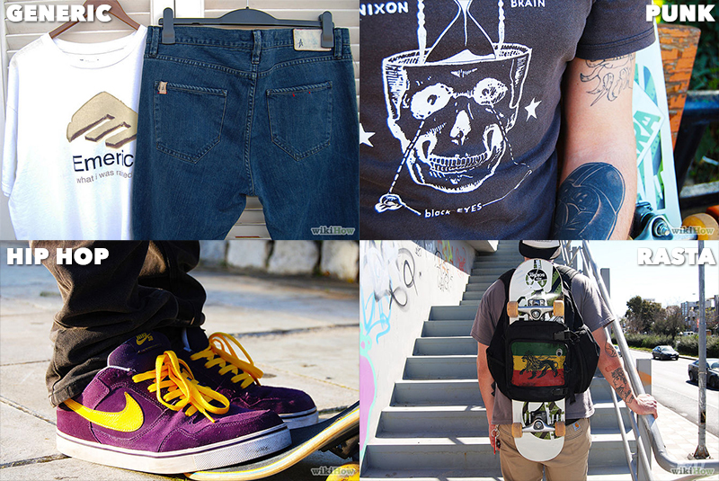 How To Dress Like Skater