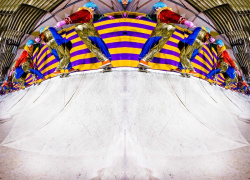 (Dan Cates: frontside rock in a fun house mirror, picture by Rob Shaw)