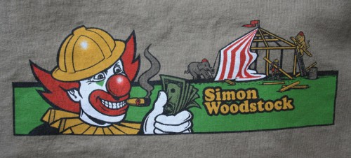 (Simon Woodstock T-shirt from eBay)