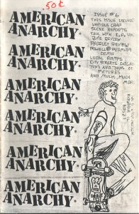 American Anarchy #6, cover