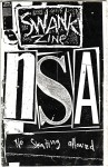 Swank Zine NSA Issue - Cover