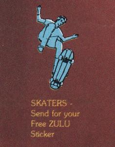zulu-sticker