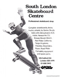 South-London-Skateboard-Centre