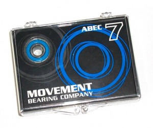 Movement:  Abec 7 Bearings