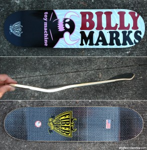 Toy Machine Billy Marks Fiber Prime deck