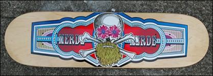 Merde Skateboards: Cigar Band