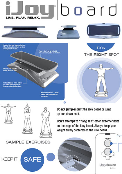 iJoy motorized balance board