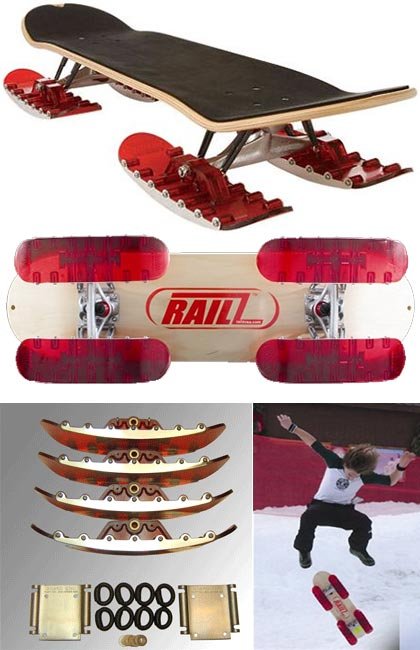 Snow Railz for skateboards