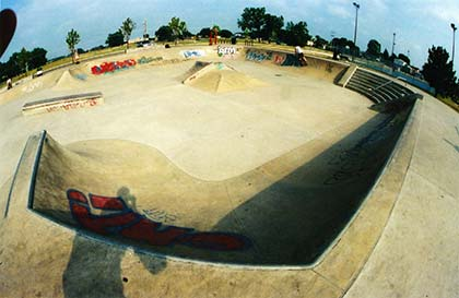 Burbank Illinois Skate park