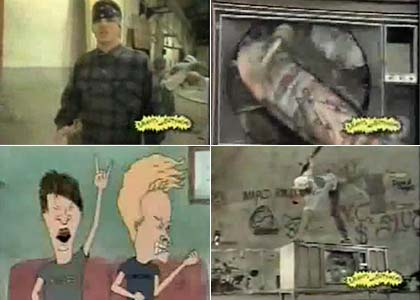 Suicidal Tendencies Institutionalized on Beavis and Butthead