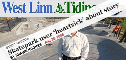 West Linn Tidings Editorial reply