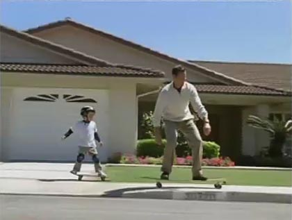 Levis Dockers commercials with skateboarding
