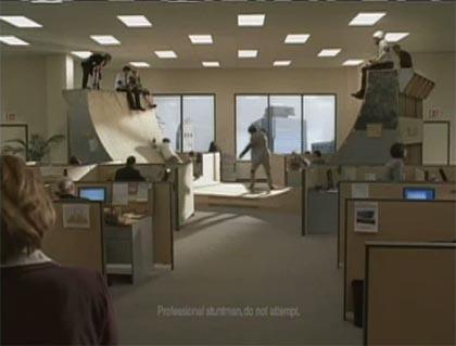 FedEx skateboard commercial