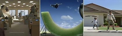 Skateboards in Commercials: FedEx, Levis, Gatorade