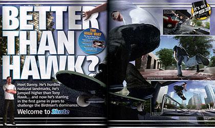 Danny vs Hawk Video game