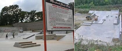 Marshall MO skatepark