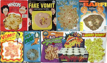 Fake Vomit Extravaganza