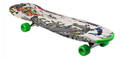 Hervé Matejewski - Toile de Jouy skateboard