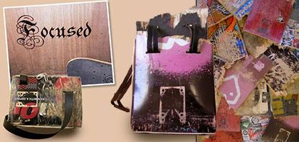 Focused Skateboard Handbags