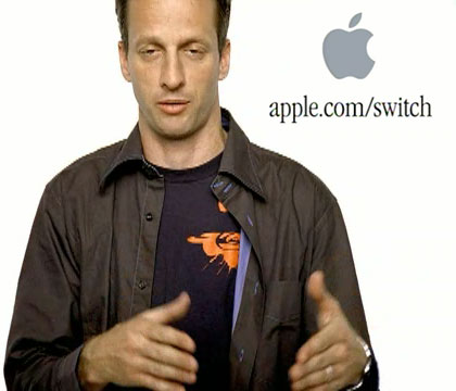 Tony Hawk in Apple switch ads
