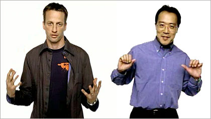 Yo Yo Ma and Tony Hawk in Apple switch ads
