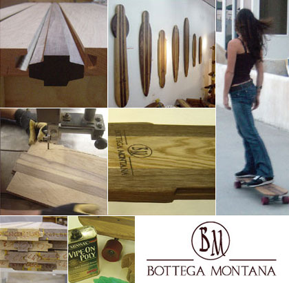 Bottega Montana skateboards