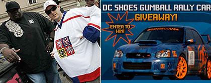 Rob Dyrdek Gumball Rally Car Giveaway