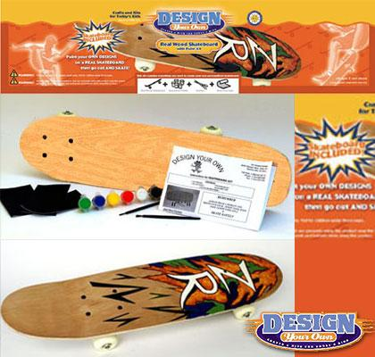Design your own crappy skateboard