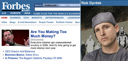 Rob Dyrdek on Forbes.com