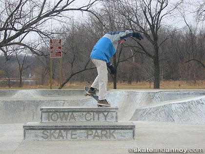 Iowa City Skate Park 2003
