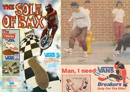 Vans: Official Shoe of BMXers and break dancers?