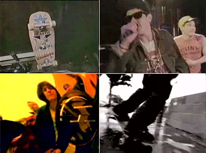 Beastie Boys Skateboarding in Videos