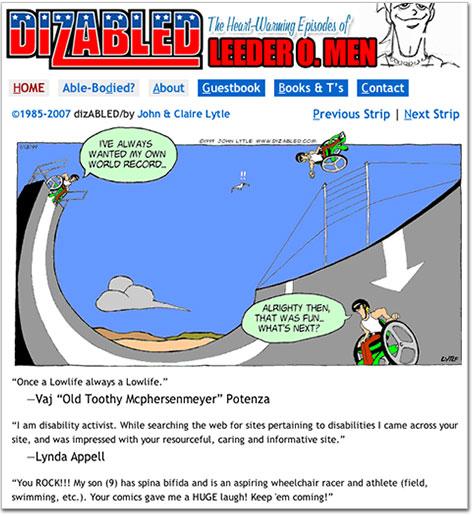 Dizabled.com and Leeder O. Men