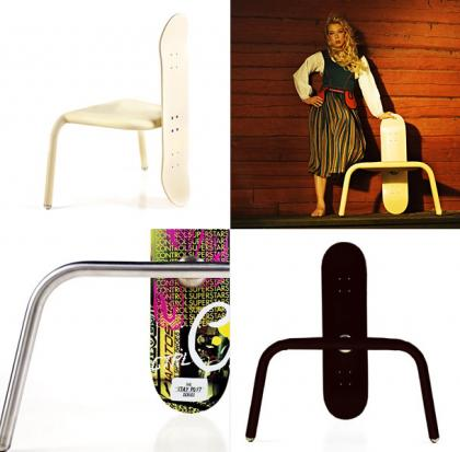 Skede Skateboard chair