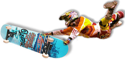Limited Edition Travis Pastrana Skateboard