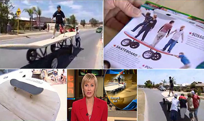Worlds Biggest Skateboard in Australia
