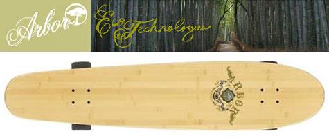 Arbor Bamboo Skateboard