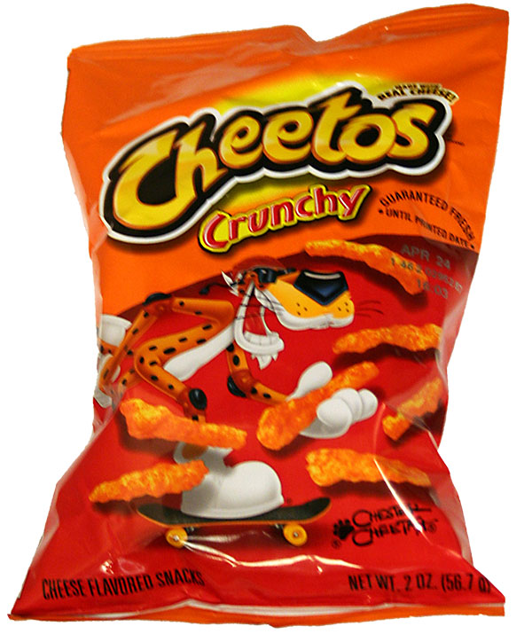 Now look at this bag of Cheetos