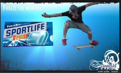sportlife gum skate