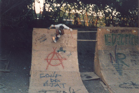 old bmx ramp in Naperville