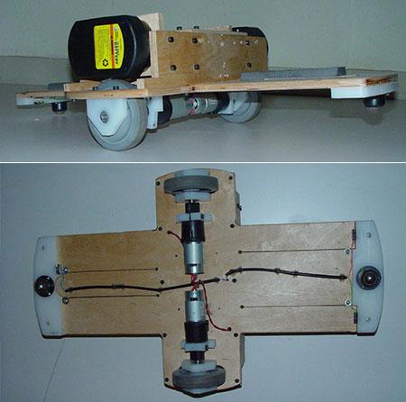 skatanova, a self-balancing skateboard