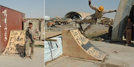 Transworld Skateboarding photos from Iraq