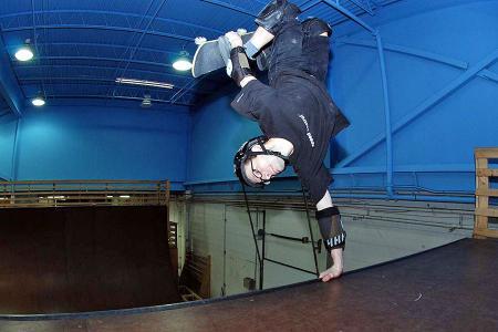 Dave Campbell at Modern Skate in grand Rapids Michigan