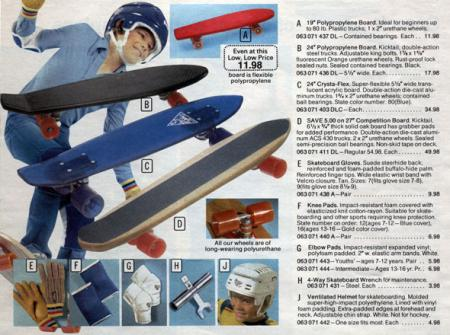 Sears skateboards