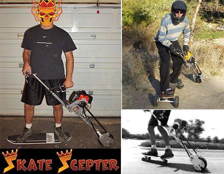 Skate Scepter self propelled assist