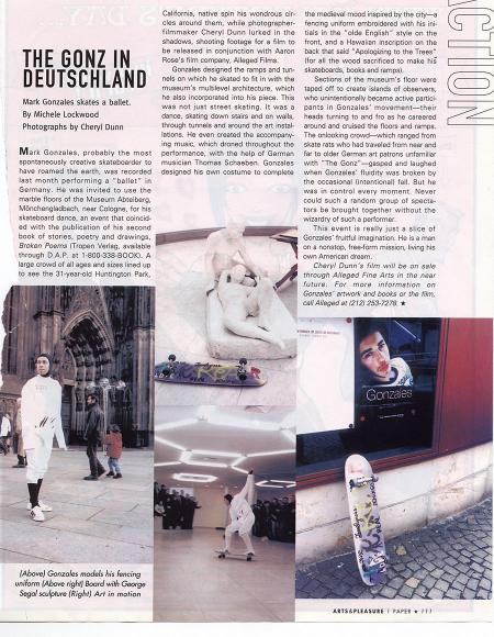 The Gonz in Deutchland