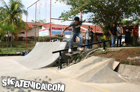 Skate Contest in Nicaragua