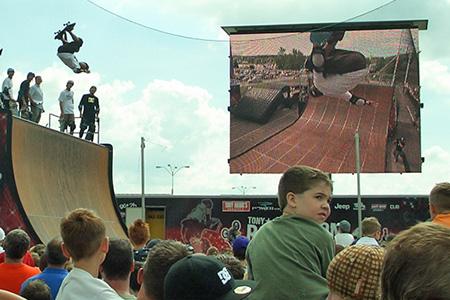 Tony Hawk Six Flags demo