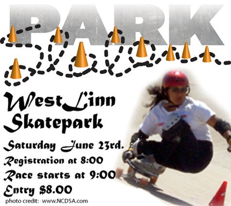 Park Slalom poster