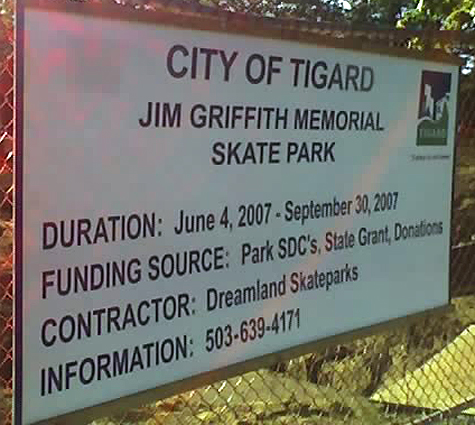 tigard sign